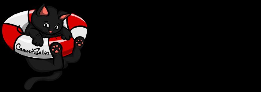 CanariGatos-Tierschutz-Katzen-Logo-Slogan